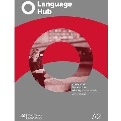 Książki do nauki języka, Language hub split ed. elementary a2 wb a + key - peter maggs, catherine smith (opr. broszurowa)