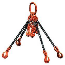 Łańcuch do dźwigów z możliwością skrócenia - klasa jakości 10, 4-cięgnowy, dł. u