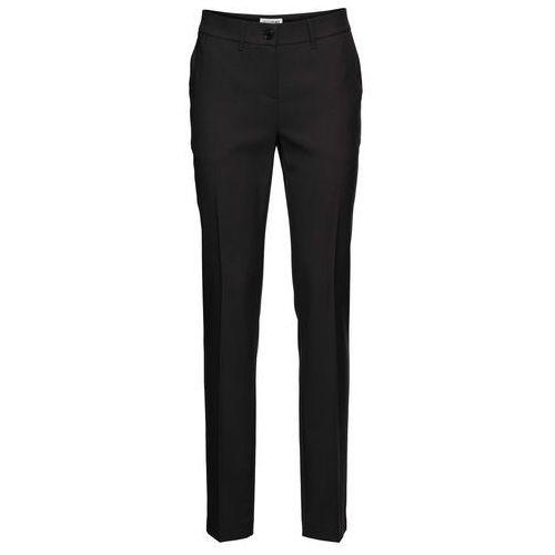 Spodnie damskie, Spodnie biznesowe bonprix czarny