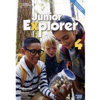 Książki do nauki języka, Junior Explorer 4 Podręcznik. Klasa 4 Szkoła podstawowa Język angielski - Jennifer Heath, KATARZYNA KŁOPSKA, MARTA MROZIK, Michele Crawford (opr. miękka)