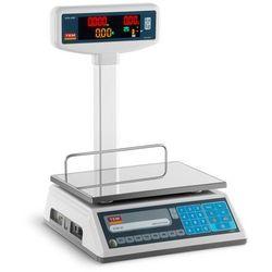 Waga sklepowa - 30 kg / 10 g - legalizacja TEM 10200011 TEL030B1D-V2-B1