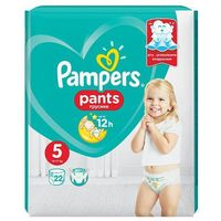 Pieluchy jednorazowe, Pampers, Active Baby Pants. Pieluchomajtki, rozmiar 5 Junior, 22 sztuki - Pampers