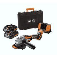 Szlifierki i polerki, AEG BEWS18-125BL-302C