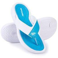 Pozostałe sporty wodne, Klapki basenowe SPOKEY Chillout Niebiesko-Biały (rozmiar 36)