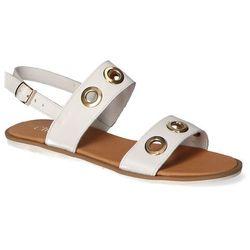 Sandały CheBello 2038 Białe lico