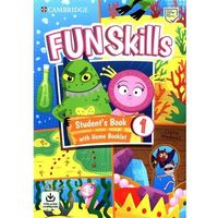 Książki do nauki języka, Fun Skills 1 Students Book with Home Booklet and Downloadable Audio - Scott Adam, Medwell Claire - książka