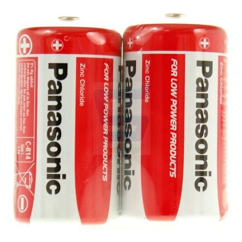 Baterie, Bateria cynkowo-węglowa Panasonic R14 C - blister 2 sztuki