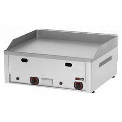 Płyta grillowa gazowa gładka | 650x480mm | 8000W | 660x580x(H)220mm