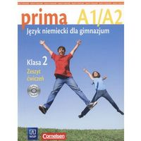 Książki do nauki języka, prima A1/A2. Język niemiecki dla gimnazjum. Klasa 2. Zeszyt ćwiczeń - praca zbiorowa - książka (opr. broszurowa)