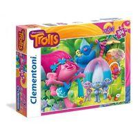 Puzzle, Puzzle Supercolor Maxi Trolle 104