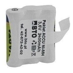 Akumulator NiMH AA 3.6V 2.4Ah 3S1P