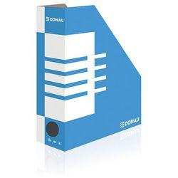 Pojemnik na dokumenty DONAU, karton, A4/100mm, niebieski