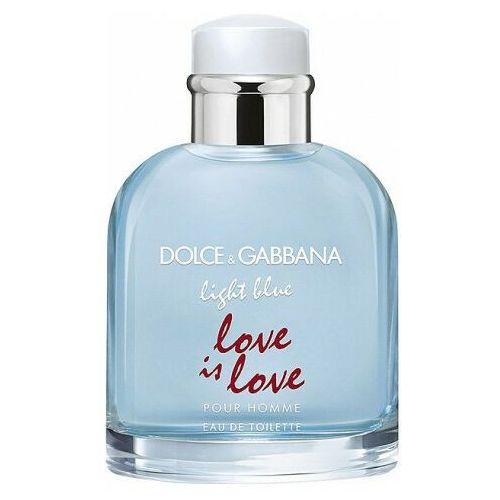 Pozostałe zapachy, Dolce&Gabbana Light Blue Love Is Love woda toaletowa 75 ml dla mężczyzn