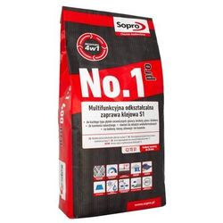 Zaprawa klejowa Sopro No 1 Pro S1 multifunkcyjna 5 kg