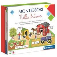 Gry dla dzieci, Clementoni, Montessori. Na farmie (50693). Wiek: 3+