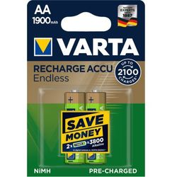 Varta akumulatory Endless 2 AA 1900 mAh 2100 Cycles R2U 56676101402