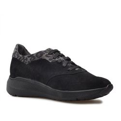 Sneakersy Ryłko 1LRB4_AP_4IR Czarne zamsz