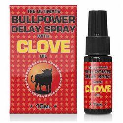 Spray na Opóźnienie Wytrysku Bullpower z Olejkeim Goździkowym 15ml | 100% DYSKRECJI | BEZPIECZNE ZAKUPY
