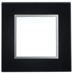 SOPIA (Kalya) Ramka szklana pojedyncza czarna 159319