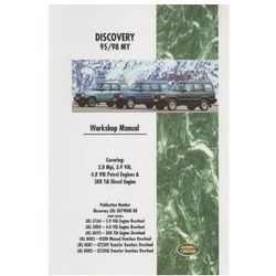 Land Rover Discovery Workshop Manual 1995-1998 MY