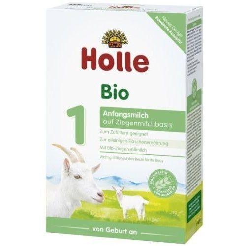 Mleka modyfikowane, HOLLE 1 400g Mleko kozie początkowe dla dzieci i niemowląt od urodzenia w proszku BIO | DARMOWA DOSTAWA OD 150 ZŁ!