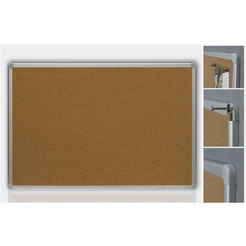 Tablice i flipcharty, Tablica korkowa 2x3 TCA34/C - 30x40 aluminium