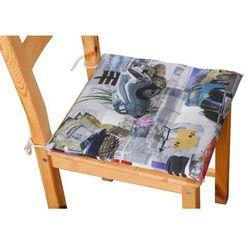 Dekoria Siedzisko Karol na krzesło, samochody retro, 40 × 40 × 3,5 cm, Freestyle do -30%