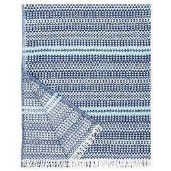 Koc Lapuan Kankurit Aino blueberry-turquoise 130x170 cm