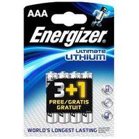 Akumulatorki, Energizer Ultimate Lithium Micro AAA 3+1 Promo Pack