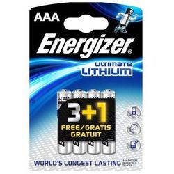 Energizer Ultimate Lithium Micro AAA 3+1 Promo Pack