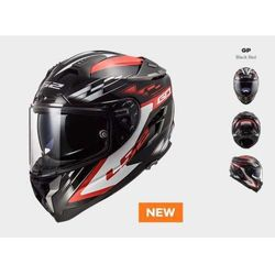 KASK LS2 FF327 CHALLENGER GP BLACK RED