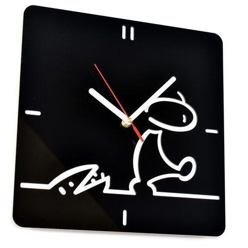 Zegary, Zegar ścienny akrylowy plexi Woodway LA LINEA
