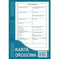 """Druk """"Karta Drogowa"""" A5 nowa MICHALCZYK I PROKOP 815-3"""