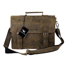 Kochmanski torba skórzana podróżna A4 1942