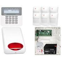 Zestawy alarmowe, ZESTAW ALARMOWY: Płyta główna Perfecta 16 + Manipulator PRF-LCD + 6x Czujnik ruchu + Akcesoria