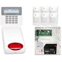 ZESTAW ALARMOWY: Płyta główna Perfecta 16 + Manipulator PRF-LCD + 6x Czujnik ruchu + Akcesoria