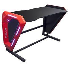 E-Blue Biurko dla gracza 125x62x80,8 cm, podświetlenie