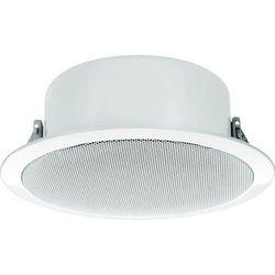 Głośnik sufitowy PA do zabudowy Monacor EDL-11TW, 60 - 20 000 Hz, 100 V, Kolor: biały, 1 szt.