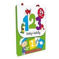 Książki dla dzieci, 123 Liczby i kształty. Karty edu. dla najmłodszych - Praca zbiorowa