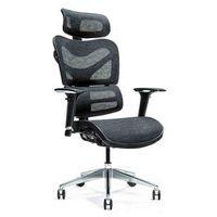 Fotele i krzesła biurowe, Ergonomiczny fotel biurowy ERGO 600 czarny