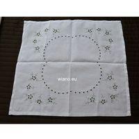 Serwety, Serweta bawełniana, ręcznie haftowana 52x48 cm (czk-1)
