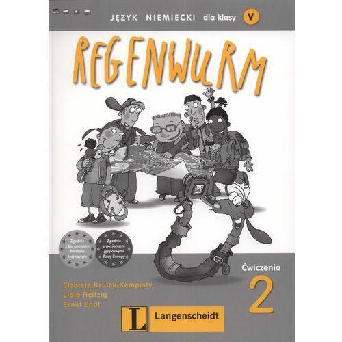 Książki do nauki języka, Regenwurm 2. Klasa 5. Ćwiczenia. (opr. miękka)