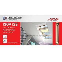 Okno dachowe OKPOL ISOV I22 78x140