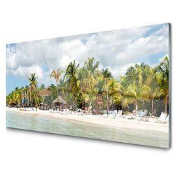 Panel Kuchenny Plaża Palma Drzewa Krajobraz