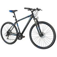 Pozostałe rowery, Rower INDIANA X-Cross 3.0 M21 Czarno-niebieski | 5 LAT GWARANCJI NA RAMĘ DARMOWY TRANSPORT