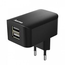 Ładowarka Hama 2x USB 3.1A Czarna (001737570000) Darmowy odbiór w 20 miastach!