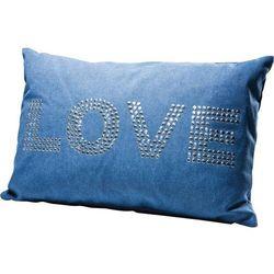KARE Design:: Poduszka Love Studs 40 x 60 cm - niebieska - niebieska Love Stock -30% (-30%)