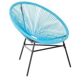 Krzesło ogrodowe niebieskie ACAPULCO