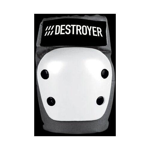 Ochraniacze na ciało, ochraniacze na łokcie DESTROYER - Rec Elbow Grey/White (GRW) rozmiar: M