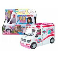 Lalki dla dzieci, Barbie Mobilna Karetka Światło Dźwięk FRM19